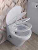 Stilo plus toilet met geïntegreerde broyeur en bidet_