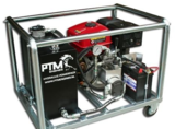 Hydrauliek kruiwagenmodel powerpack met 13pk benzinemotor