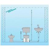 Professionele vuilwaterpomp broyeur / afvalwaterpomp