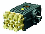 4,8 kw hogedruk plunjerpomp met benzinemotor aandrijving_