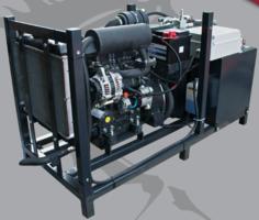 Diesel hydrauliek powerpack 34pk