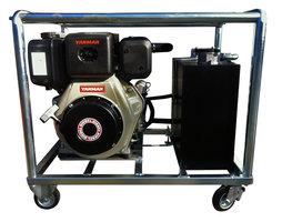 Hydrauliek aggregaat / powerpack met 10pk Yanmar dieselmotor