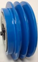 Trilplaat centrifugaalkoppeling 19,05mm, dubbele SPA snaar
