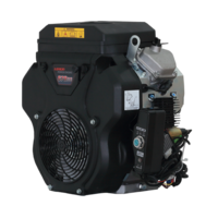 PTM680PRO: krachtige 22 pk V-twin benzinemotor (professional series) alternator as