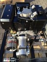 Hydrauliek dieselmotor/pomp/alternator combinatie 10pk