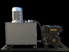 Hybride hydrauliek powerpack 5,5kW