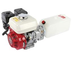 Honda GX160 met hydrauliek powerpack opbouw
