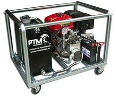 Hydrauliek aggregaat powerpack met 13 pk benzinemotor