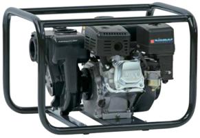 PTM Hoge capaciteit zelfaanzuigende waterpomp met benzinemotor 660 L/min