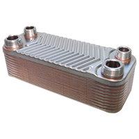 RVS warmtewisselaar met 20 platen 44KW