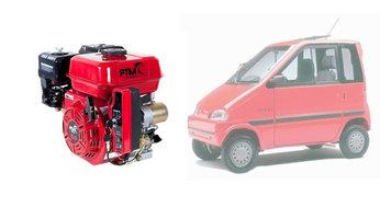 PTM200pro: 6.5 pk Canta brommobielmotor