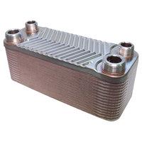 RVS warmtewisselaar met 30 platen 66kW