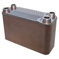 RVS warmtewisselaar met 50 platen 90kW