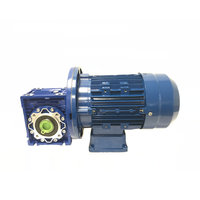Reductiekast wormwiel 47 rpm 109 Nm met elektromotor