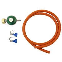 Gasdrukregelaar met slang (30 mbar)