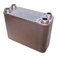 RVS warmtewisselaar met 60 platen 130kW