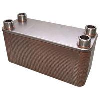 RVS warmtewisselaar met 50 platen 285kW