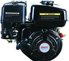 Loncin G200FD luchtgekoelde benzinemotor met 19,05 mm as en elektrostart