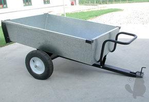 Aanhanger / aanhangwagen met kiep-bak 320KG laadvermogen