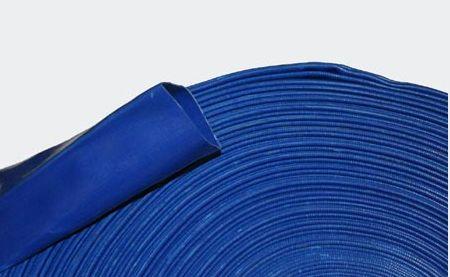 Afbeelding van Platte PVC persslang 1 inch– 25 mm oprolbaar, licht en ruimte besparend