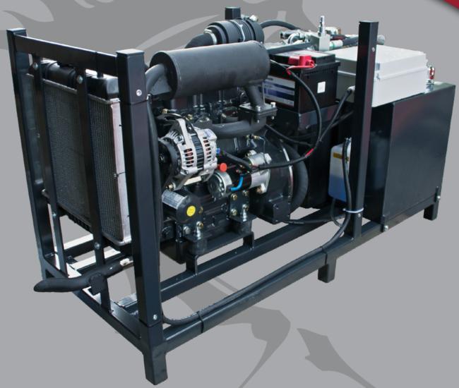 Afbeelding van Diesel hydrauliek powerpack 34pk