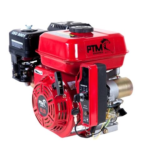 Afbeelding van PTM270EPRO: krachtige 9,0 pk OHV benzinemotor (professional series) 25,40 as met E-start