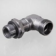 """Afbeelding van inschroefverbinding bocht 90° 3/4"""" - 22L (M30)"""