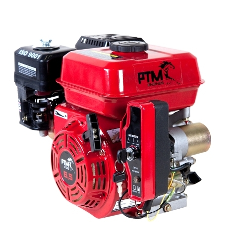 Afbeelding van PTM270EPRO: krachtige 9,0 pk OHV benzinemotor (professional series) 25mm as met E-start