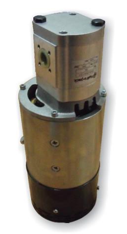 Afbeelding van 24V elektromotor met tandwielpomp 5,5kw