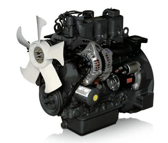 Afbeelding van 22 pk PTM by Daedong 3 cilinders, 1007cc dieselmotor
