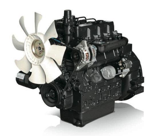Afbeelding van 49 pk PTM by Daedong 4 cilinders, 2434cc dieselmotor met turbo