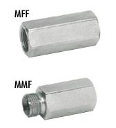 Afbeelding van Slangbreukventiel - VUBA 1/4'' BSP MFF/MMF
