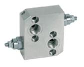"""Afbeelding van Drukbegrenzingsventiel hydro motoren VAU 1/2"""" MS"""