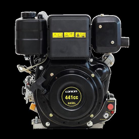 Afbeelding van PTM440DPRO 10pk dieselmotor (professional series) by Loncin