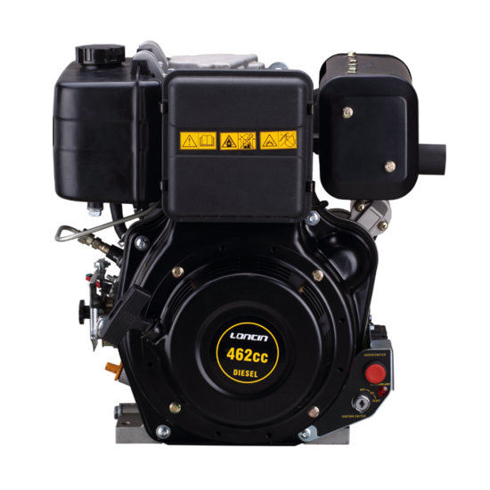 Afbeelding van PTM460DPRO 12pk dieselmotor (professional series) by Loncin