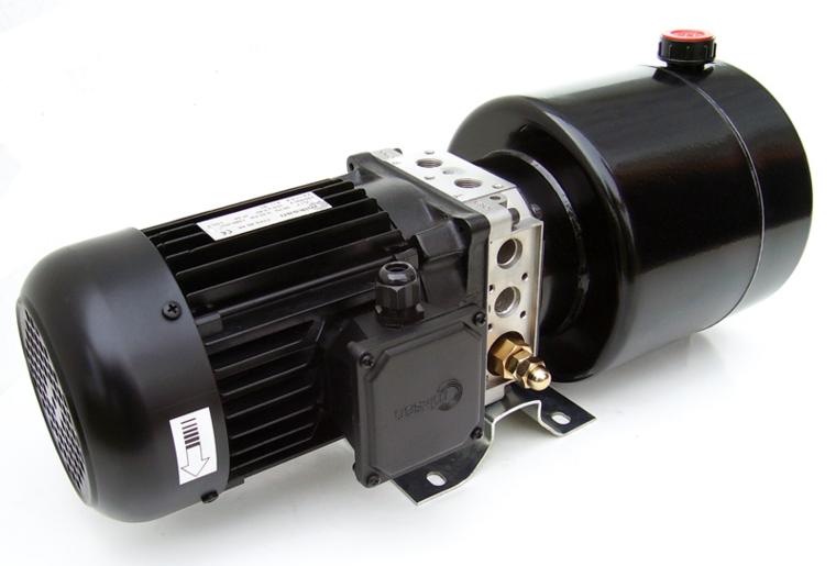 Afbeelding van 230V/1,5kW hydrauliek aggregaat mini-powerpack