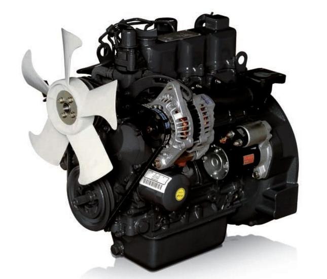 Afbeelding van 19 pk PTM by Daedong 3 cilinders, 927cc dieselmotor
