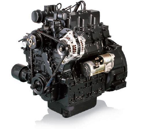 Afbeelding van 28 pk PTM by Daedong 3 cilinders, 1394cc dieselmotor