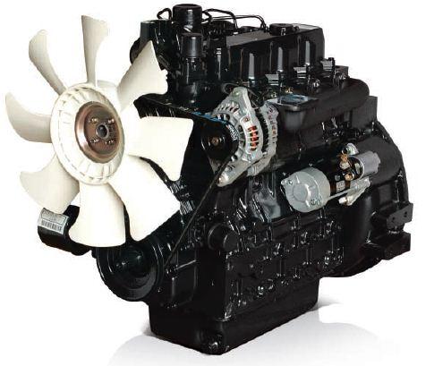 Afbeelding van 41 pk PTM by Daedong 4 cilinders, 1999cc dieselmotor