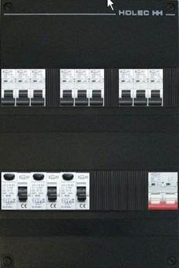 Afbeelding van EMAT 9 Groepenkast 1 Fase + Hoofdschakelaar