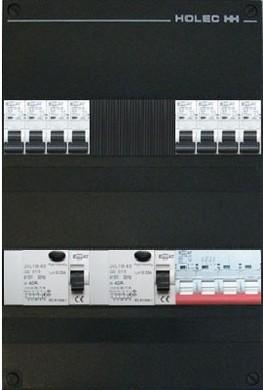 Afbeelding van EMAT 8 groepenkast 3 fase met hoofdschakelaar