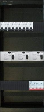 Afbeelding van EMAT 9 groepenkast 3 fase met hoofdschakelaar