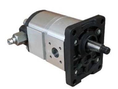 Afbeelding van High-low hydrauliek tandwielpomp 4,5cc - 7cc Gr.2