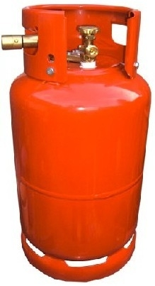 Afbeelding van 36L LPG tank inclusief inhoudsmeter en vulaansluiting