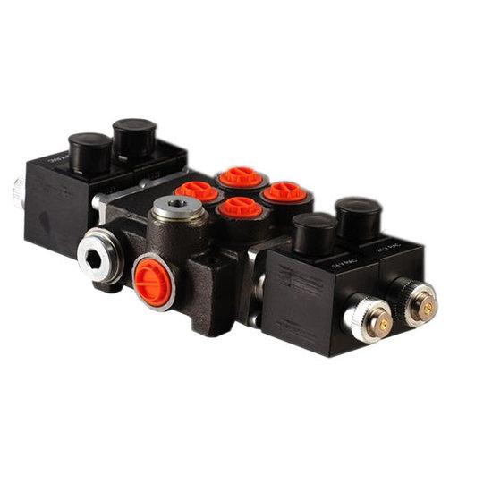"""Afbeelding van 12V Hydropack 2Z50 solenoid stuurventiel 3/8"""" BSP, 50l/min"""