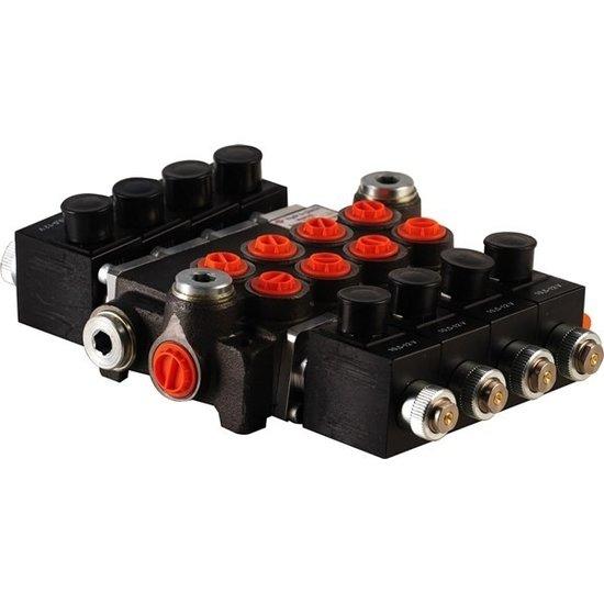 """Afbeelding van 24V Hydropack 4Z50 solenoid stuurventiel 3/8"""" BSP, 50l/min"""