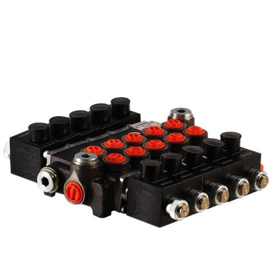 """Afbeelding van 12V Hydropack 5Z50 solenoid stuurventiel 3/8"""" BSP, 50l/min"""
