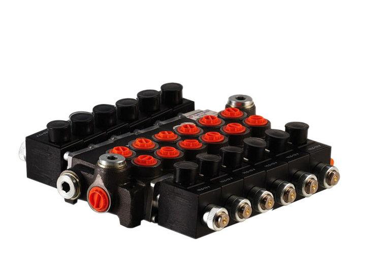 """Afbeelding van 12V Hydropack 6Z50 solenoid stuurventiel 3/8"""" BSP, 50l/min"""