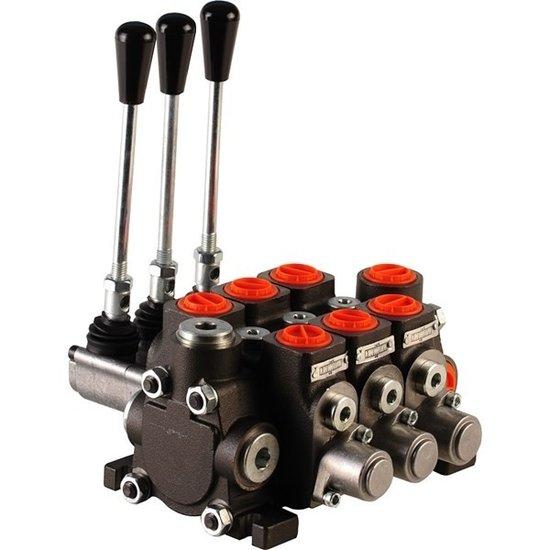 """Afbeelding van Hydropack 3PC70 stuurventiel 1/2"""" BSP, 80l/min"""