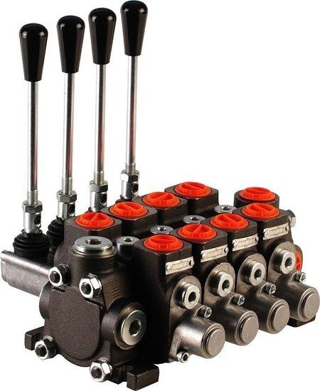 """Afbeelding van Hydropack 4PC70 stuurventiel 1/2"""" BSP, 80l/min"""